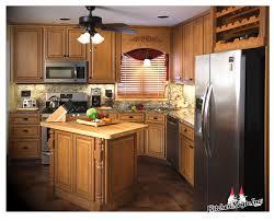 dark wild apple with brown glaze cabinets granite countertop www