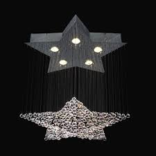 Star Chandeliers Classic Lighting 16005 Ch Cp 5 Light Andromeda Star Chandelier
