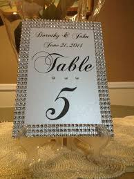 table numbers wedding table numbers the event weddings