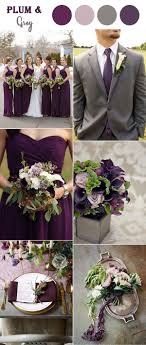 plum wedding the 10 fall wedding color combos to in 2018 plum