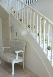 Handrail Christmas Decorations 30 Staircase Christmas Decoration Ideas To Diy This Year