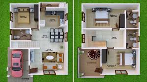 indian duplex house plans for 1000 sq ft youtube