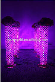 Pillars And Columns For Decorating 2017 Crystal Pillar Columns For Wedding Stage Decoration Columns
