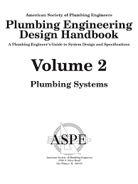 plumbing engineering design handbook vol 2 2010 water