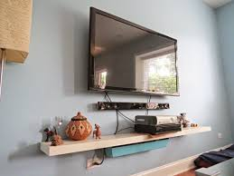 how to hide your television and cable wires an easy diy