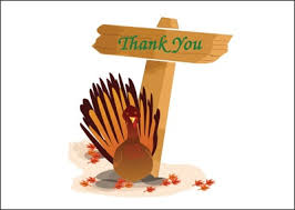 bountiful thanksgiving thank you card wording sles