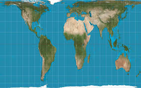 Continental Us Map Why Some U S Classrooms Are Replacing Traditional World Maps