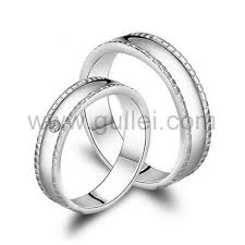 wedding ring sets his and hers white gold matching his and hers gold silver anniversary rings set for two