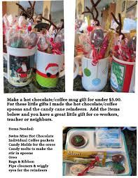 gift mugs with candy make coffee hot chocolate gift mugs for less than 5 00