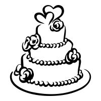 wedding cake drawing wedding cake icons noun project