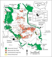 Glenwood Springs Colorado Map by Stratigraphic Architecture Of Fluvial Deposits From Borehole