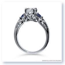 filigree engagement ring silverstein imagines 18k white gold heart filigree diamond