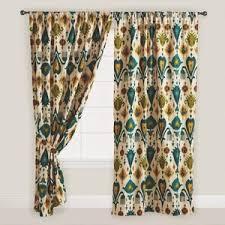 Etsy Drapes Unbelievable Design Ikat Curtains Ikat Curtains West Elm Yellow