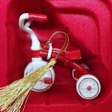 lenox 2011 ready to ride tricycle ornament new in box ebay