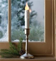 battery operated window lights cordless window candle holiday lighting plow hearth