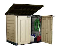 keter store it out max outdoor plastic garden storage shed 145 5
