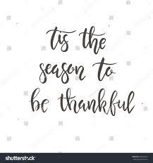 tis season be thankful happy thanksgiving stock vector 486223054