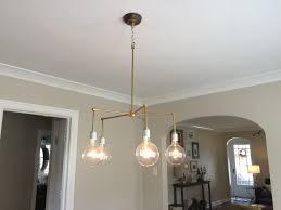 lighting diy dining room my simply simple