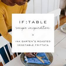 if gathering ina garten u0027s roasted vegetable frittata
