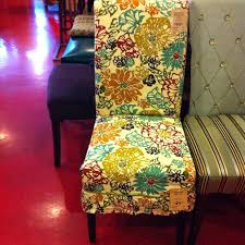 chagne chair covers pier 1 floral slipcover and adelaide dining chair the