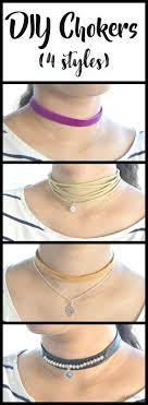 chokers necklace diy images Vikalpah diy chokers 4 styles jpg