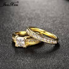 aliexpress buy gents rings new design yellow gold junxin geometric design yellow gold color wedding ring
