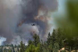 Wildfires In Colorado by Authorities Battle Cold Springs Fire In Colorado