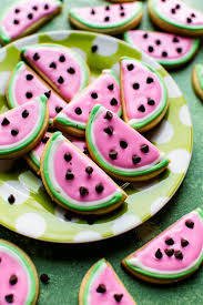 Sugar Cookies For Halloween Watermelon Sugar Cookies Video Sallys Baking Addiction