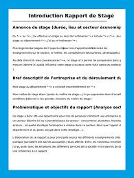 rapport de stage 3eme cuisine rapport de stage exemples méthodes plans gratuits