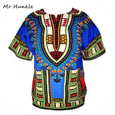 dashiki new african clothing traditional print tops fashion design