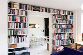 Whole Wall Bookshelves Work Space Storage Solutions Elfa Inspiration