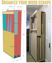 Wood Storage Rack Plans by Lumber Storage Cart On Wheels To Organize All That Scrap Wood For