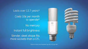Led Light Bulbs Ge by Introducing The Bright Stik Led Bulb Ge Lighting Youtube