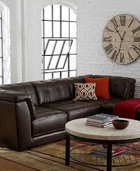 Stacey Leather Sectional Sofa Stacey Leather Modular Living Room Furniture Collection With Sets