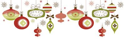 ornaments clipart top border pencil and in color