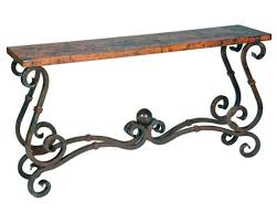 Wrought Iron Console Table Wrought Iron Console Tables