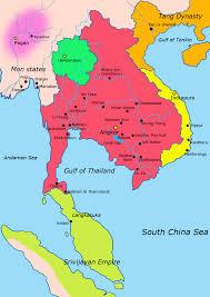 Map Of Cambodia Khmer Empire Maps Cambodia