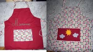 tablier de cuisine couture patron couture pour tablier de cuisine idée de modèle de cuisine