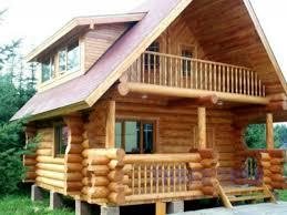 wooden rest house design homepeek