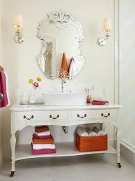 girly bathroom ideas adorable venetian bathroom vanity mirror in a girly bathroom with
