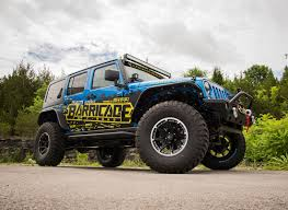700 hp jeep wrangler extremeterrain and barricade off road to unveil their fully built