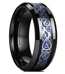 celtic mens wedding bands 8mm unisex or men s tungsten wedding band celtic mens wedding