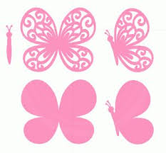 550 best butterfly silhouettes vectors clipart svg templates