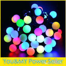 bulk globe string lights led mini multi coloured waterproof