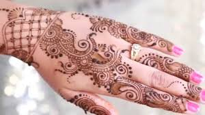 Traditional Design by Traditional Indian Bridal Henna Design Step By Step Tutorial