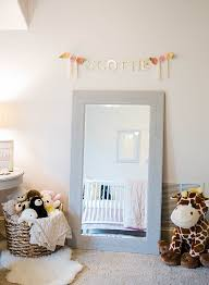 an adorable pink u0026 navy nursery inspired by this