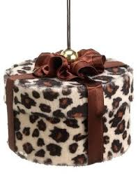 leopard print ornament can t wait for wish we had a