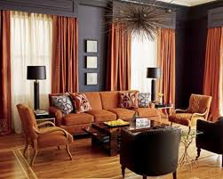 Pumpkin Colored Curtains Decorating Living Rooms Define Design Interior Designers