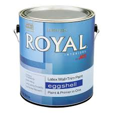 royal interior latex eggshell wall u0026 trim paint gallon
