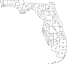Map Florida Counties by Reliability Based Modeling Of Bridge Deterioration Hazards